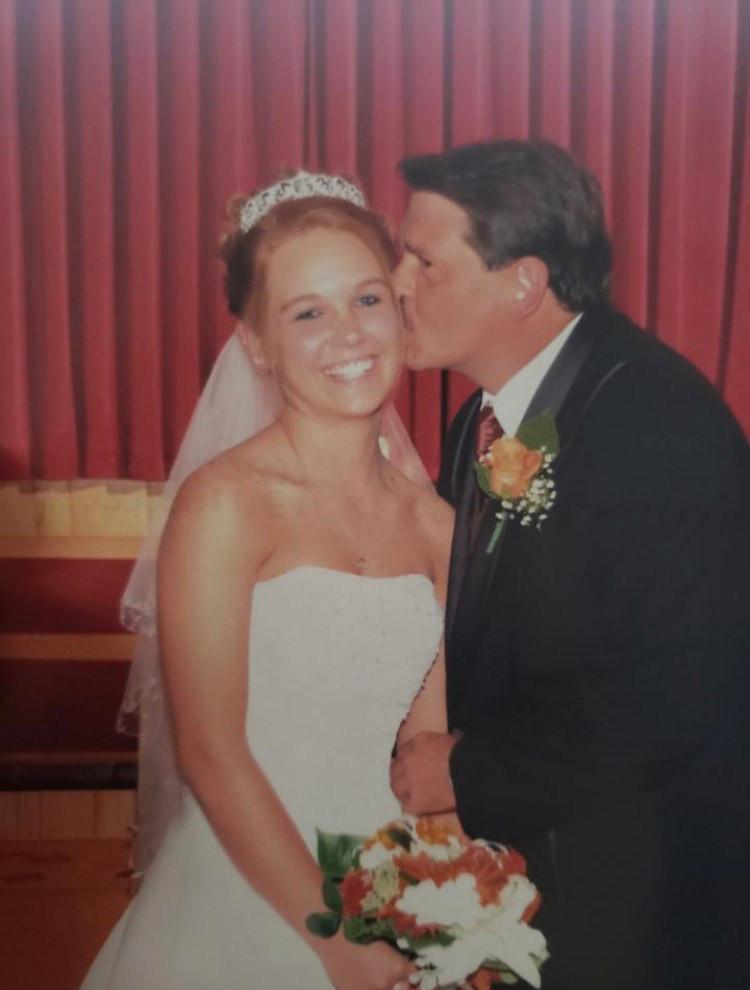 Paul at wedding